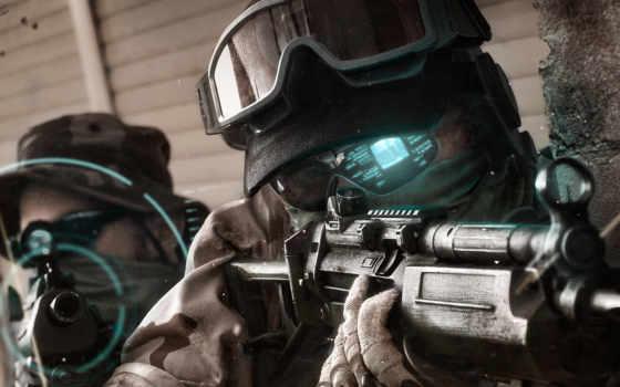 para, soldados, parede, ghost, recon, papel, soldado, desktop, futuro, baixar, seu,
