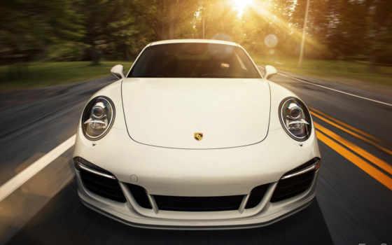 porsche, white, car, carrera, cars, free, desktop, авто,