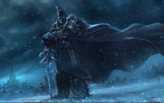 king, лич, warcraft, артас, меч, крови, чемпион, менетил, сказзрес,