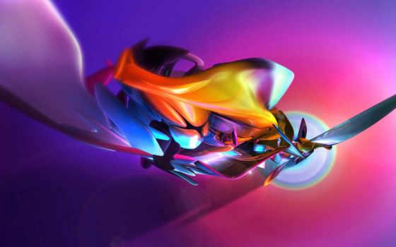 абстракция, красивых, прикольные