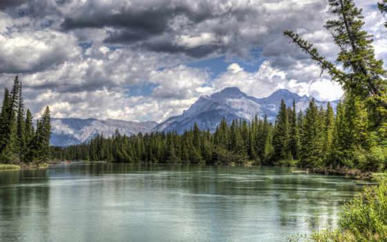 landscape, река, wonderful, природа, free, desktop,