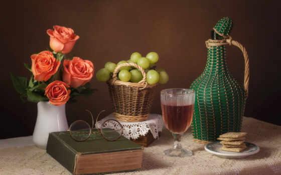роза, life, еще, glass, вино