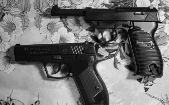 пистолеты, вальтер, хорхе, травматика, p-38