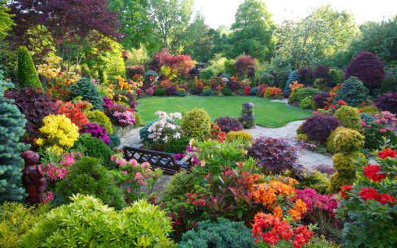 июня, garden, one, gardens,