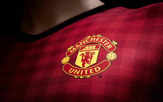 манчестер, юнайтед, united, эмблема, красные,