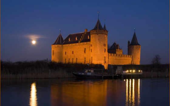 castle, ночь, pack