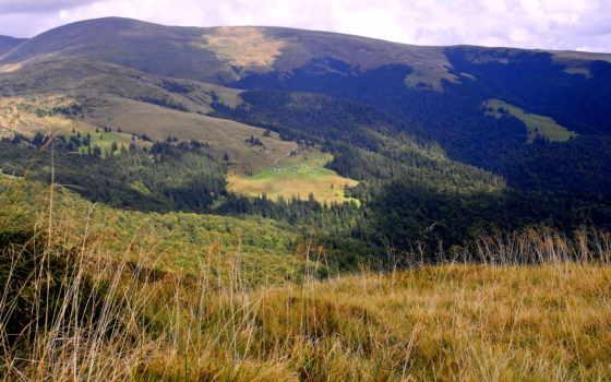 landscape, природа, горы, ukraine, трава, обою, размере, истинном, смотреть, фэнтези,