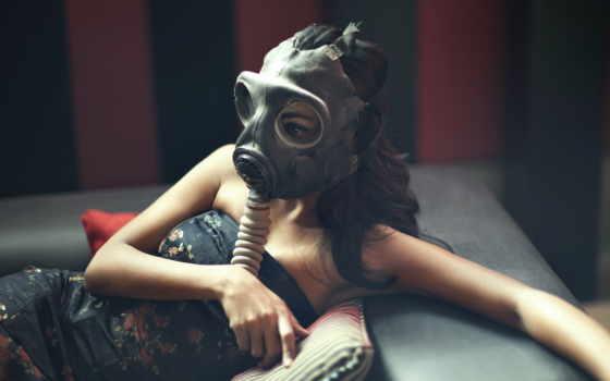 газовый, women, masks, desktop, widescreen, iphone, mobile, android,
