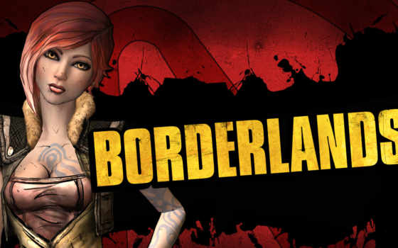 borderlands, девушка