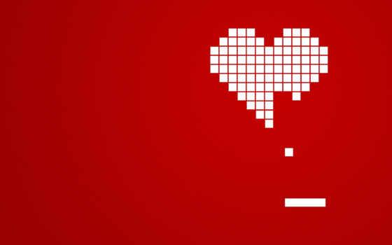 сердце, кубиков