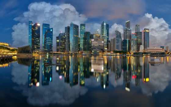 singapore, fondos, singapur, планшетный, abyss, город, desktop,