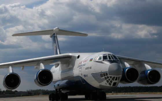 ил, самолёт, авиация, военный, транспорт, небо,