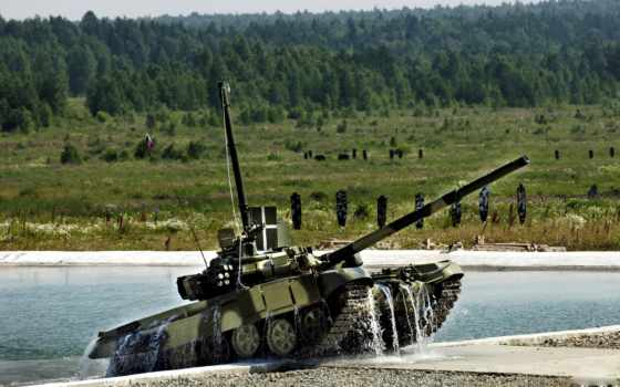 т-90, препятствие
