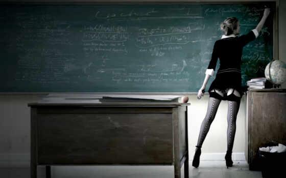 учительница, сексуальная, секси, чулки, доска, полумрак, wdpic, заставки, thread, девушки, beitrag,