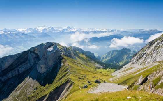 горы, кавказские, priroda
