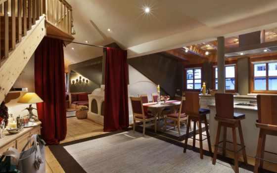 hotel, rosa, alpina