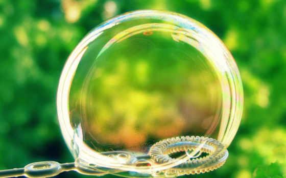 bubble, мыло, макро