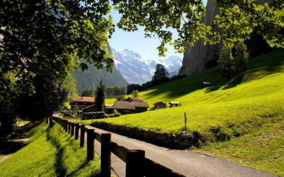швейцария, lauterbrunnen, дек