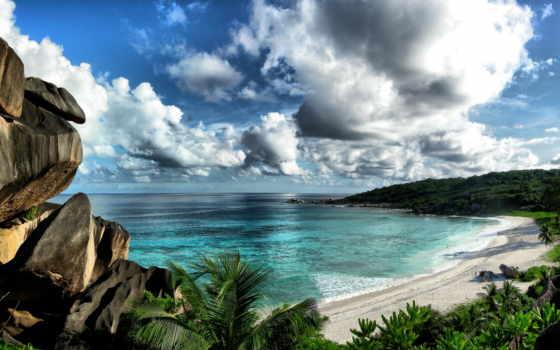 море, острова, сейшельские