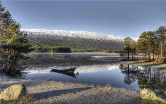 hdr, норвегия, природа