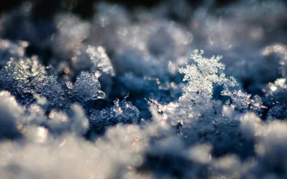 crystal, снег, winter, landscape, снежинка, фото, snowflakes,