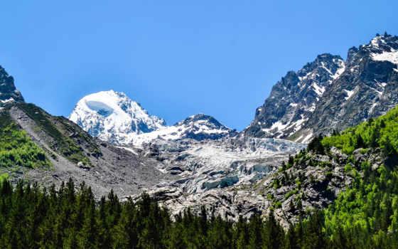 гора, dome, usa, see, scenery, также, commentaire, mount, спина