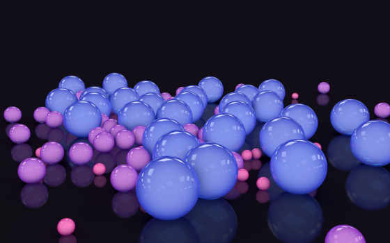 шары, digital Фон № 20751 разрешение 2560x1440