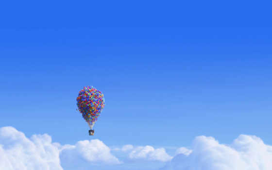 movie, сниматься, balloons, desktop, house,