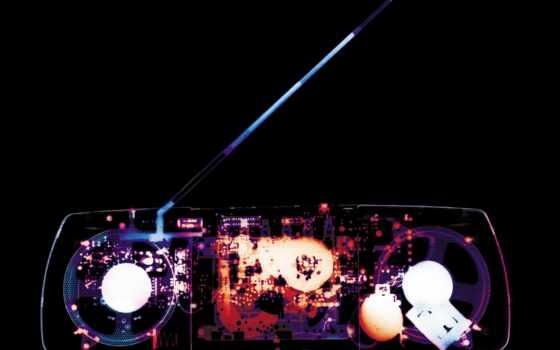 рентгеновский снимок магнитофона