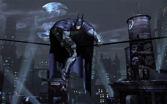 batman, arkham, тег