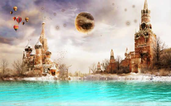 москва, москвы, фоны, заставки, площадь, square, rendering, россия, кремль,