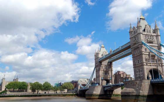 london, мост, башня
