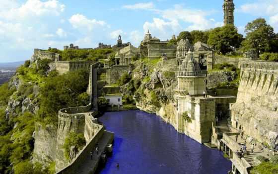замки, города, картинка, красивые,