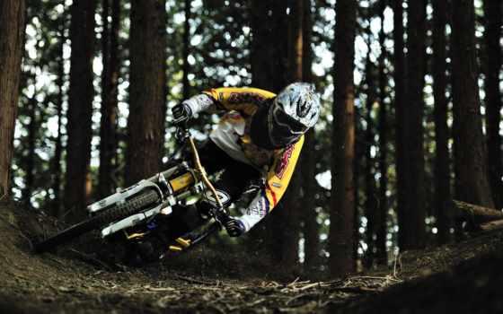 гора, мотоспорт, downhill, bike, vehiclehi, bikes,