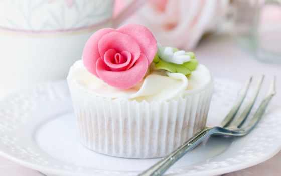 торт, еда, десерт, мороженое, candy, табличка, fork, посуда, розочка,