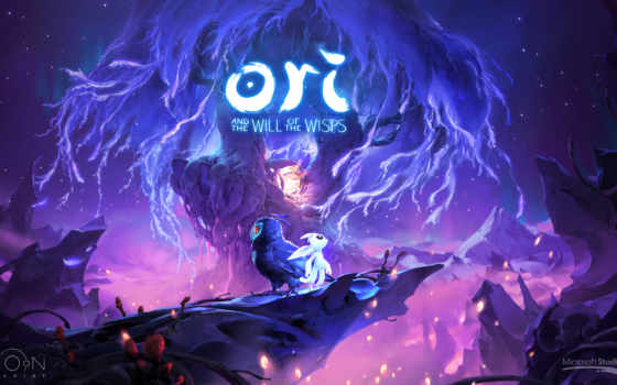 ori, will, wisps, microsoft, игры, луна,