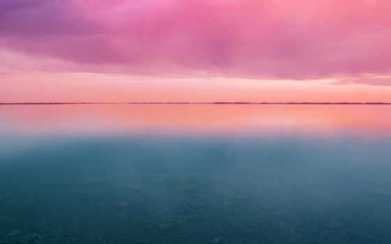 закат, stock, горизонт
