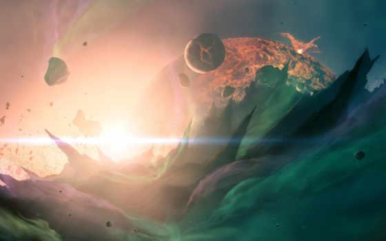 cosmos, bang, планеты