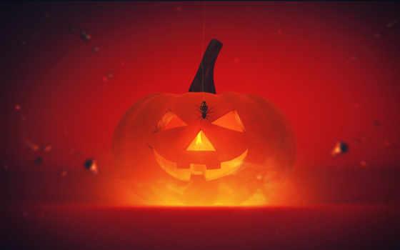 tapeta, halloween, jest, okazjonalne, desktop,