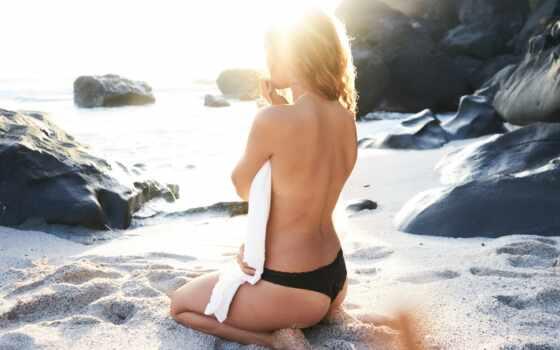 ,,, бикини,  свет, камни, красота, купальный костюм, пляж, фотосессия, блондин, модель, нога, фотография