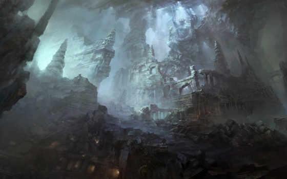chang, yuan, artist, yaun, industry, статуя, пещера, руины, свет, город, von, sina, blog, арт, with, concept,