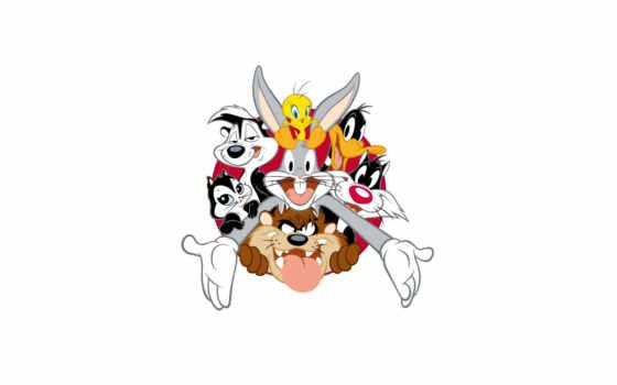 looney, tunes, daffy, bunny, веселые, тюнз, луни, мелодии, bugs, duck,