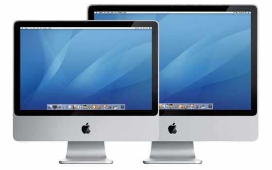 яблочные мониторы
