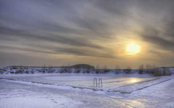 winter, вечер, снег Фон № 50973 разрешение 1920x1080