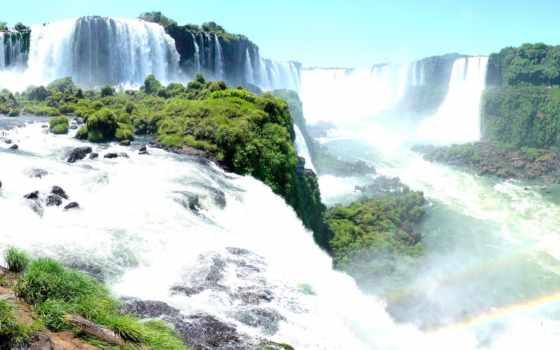 игуасу, falls, brazil