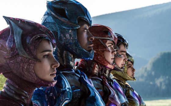 rangers, усилитель, new, movie, рамочка, фильма, могучие, рейнджеры, впервые, trailer, initial,