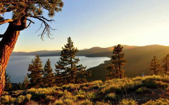 high, sierra, озеро, тахо, природа, california, tahoe,