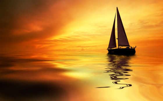 ногтях, nikosho, золотая, нравится, море, пальмы, design,