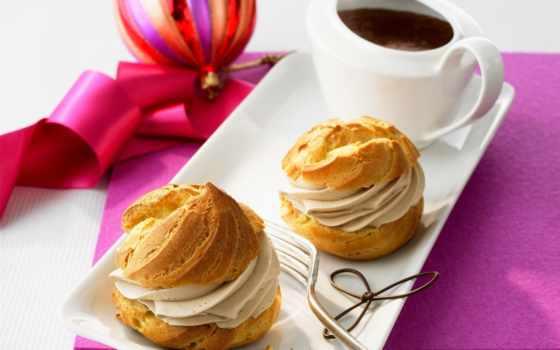 эклеры, éclair, мороженое, годом, рецепт, десерт, chocolate, торт, сладкое, еда, праздник,