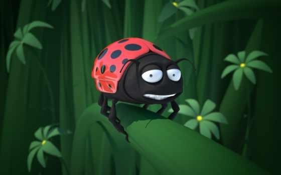 bug, божья